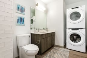 Apartments feature in-home washer and dryer   Altitude at Vizcaya