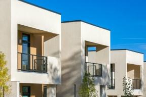 Homes feature private patios or balconies   Altitude at Vizcaya