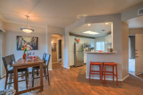 Dining room and kitchen   Arterra