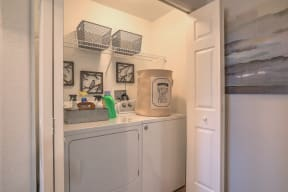 In home washer and dryer   Arterra