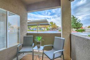 Private balconies and patios   Arterra