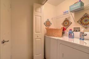 In-home washer and dryer   Arterra
