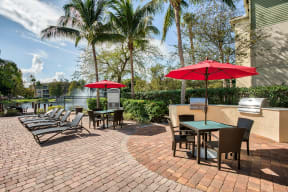 Sundeck and patio sesting | Yacht Club