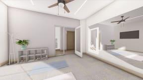Yoga room   Altitude at Vizcaya