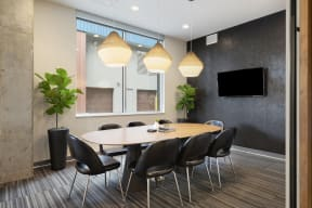 Conference Room At Revel Apartments In Minneapolis, MN