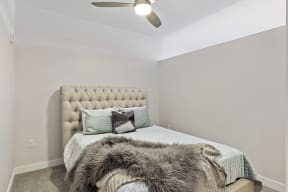 Carpeted Bedrooms At Revel Apartments In Minneapolis, MN