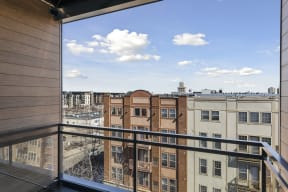 Spacious Apartment Balconies At Revel Apartments In Minneapolis, MN