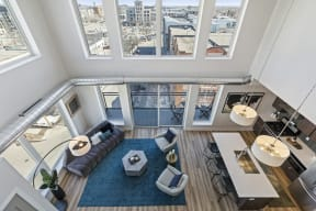 High Ceilings In Penthouse At Revel Apartments In Minneapolis, MN