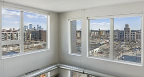 Large Windows Throughout Apartments At Revel Apartments In Minneapolis, MN