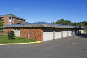 Detached Garages for plenty of parking and storage.