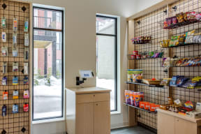 A canteen/bodega located within the building for any conveniences you may need.