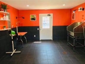 Dog-wash-station at Shellbrook, Raleigh, 27609