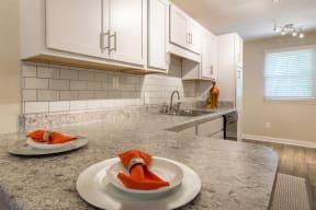 New Countertops and Cabinets at Shellbrook, North Carolina