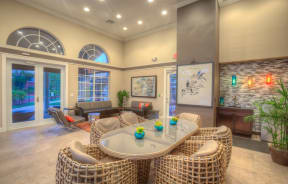 Polo Lakes Clubhouse Table and Chairs