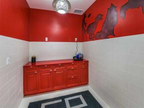 Convenient dog spa corner for Coda Orlando apartment residents' pets' well-begin in Orlando