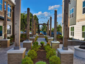 Outdoor Pointe at Lake CrabTree Spaces in Morrisville, North Carolina Apartment Rentals