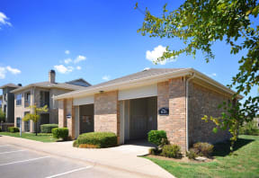 Huge Garages Available at Stoneleigh on Cartwright Apartments, J Street Property Services, Mesquite, TX