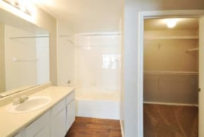 Expansive Closet Space at Stoneleigh on Cartwright Apartments, J Street Property Services, Mesquite,Texas