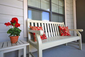 Outdoor Relaxing Area at Stoneleigh on Cartwright, Apartments, J Street Property Services Mesquite