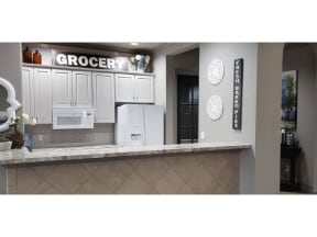Chef Inspired Kitchen at Stoneleigh on Cartwright Apartments, J Street Property Services, Mesquite, Texas