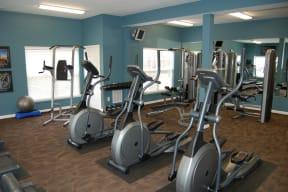Large 24HR Fitness Center