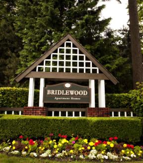Bridlewood Entrance