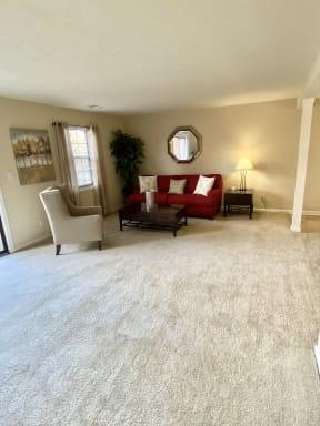 Large Sunny 2BD Living Room