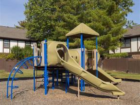 Playground in a Courtyard