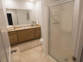 Town-home Master Bath with Shower