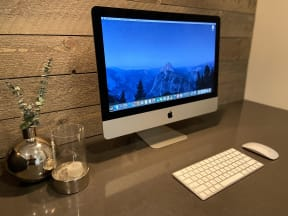 Business Center with MAC Computer