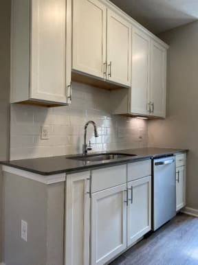 Sycamore Kitchen, Soft Closed Cabinets