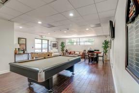 Billiard Table at Le Blanc Apartment Homes, Canoga Park, 91304