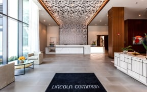 Apartments at Lincoln Common North Tower Lobby