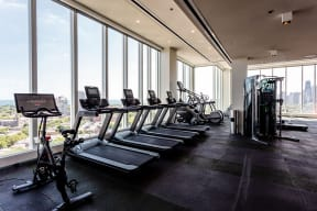 Lincoln Common Apartments South Tower Fitness Center