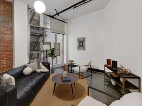 Mercantile Lofts interior