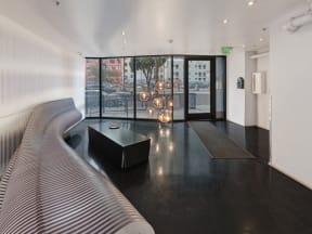 Mercantile Lofts lobby