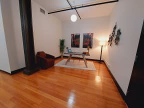 Mercantile Loft Interior Entrance Office Space