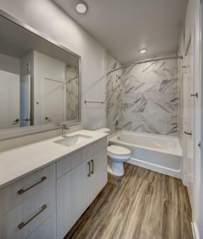 guest bathroom at Brixton South Shore, Texas
