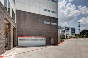 garage delivery entrance at Brixton South Shore, Austin, TX, 78741