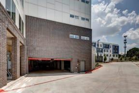 garage door opened entrance at Brixton South Shore, Texas, 78741