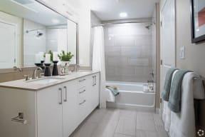 Bathroom | The Core Natomas apartments for rent