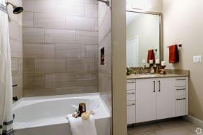 Bathroom | The Core Natomas apartments in Sacramento, CA
