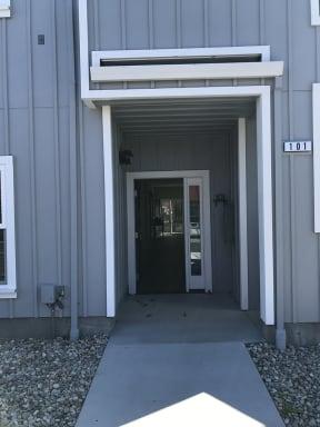 Building Entrance   2X2 Floor Plans at Farmstead at Lia Lane in Santa Rosa, CA 94928