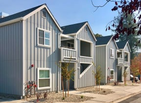 Building Exterior   2X2 Floor Plans at Farmstead at Lia Lane in Santa Rosa, CA 94928