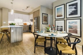 Dining Area and Kitchen | The Core Natomas in Sacramento, CA