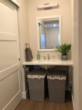 Bathroom Sink at Farmstead at Lia Lane in Santa Rosa, CA 94928