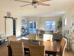 Dining Table & Living Room   Farmstead at Lia Lane in Santa Rosa, CA 94928
