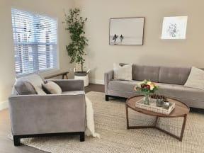 Living Room at Farmstead at Lia Lane in Santa Rosa, CA 94928