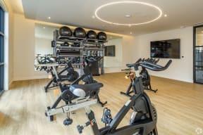 Fitness Equipment at The Core Natomas in Sacramento, CA