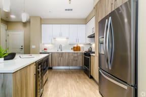 Kitchen at The Core Natomas-Downtown Sacramento Apartments for rent